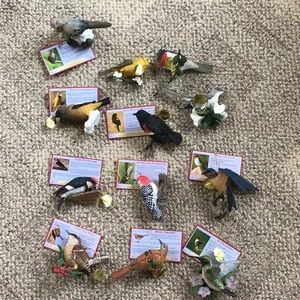 Danbury Mint Songbird Ornaments